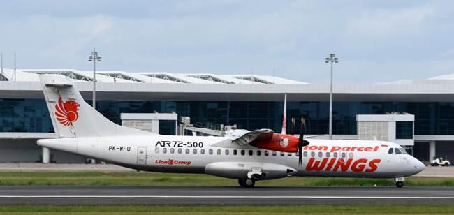Wings Air tipe pesawat ATR 72-500 [foto oleh Fikri Izudin Noor]