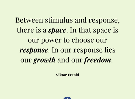 The space in life.