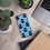 Thumbnail: Graphwize Crystal Ball Pattern iPhone Case Blue