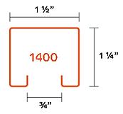 Perfil 1400