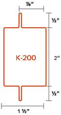 Perfil K-200