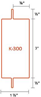 Perfil K-300