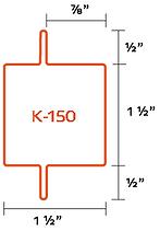 Perfil K-150