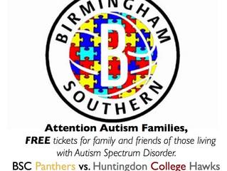 Autism Awareness Night is November 20th!
