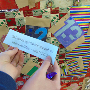 Christmas Countdown at Hope Corner School