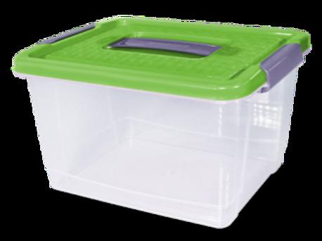 Caja Rattan N° 3 Alta - 11 Lt