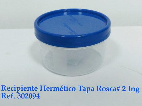 Recipiente Hermético Tapa Rosca # 2