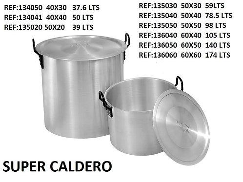 Caldero industrial  60 x 50        (140  lts)