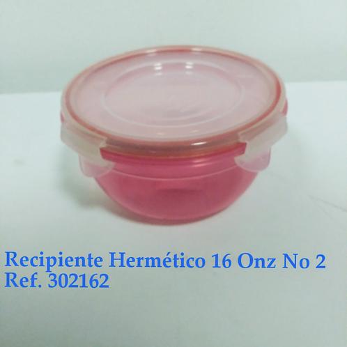 Recp. Hermetico 16 Oz # 2