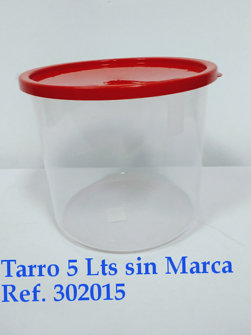 Tarro  5 Lts  Sin Marcar