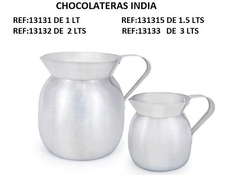 Chocolatera 2 lts     india