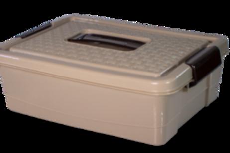 Caja Rattan N° 4 Baja - 10 Lt