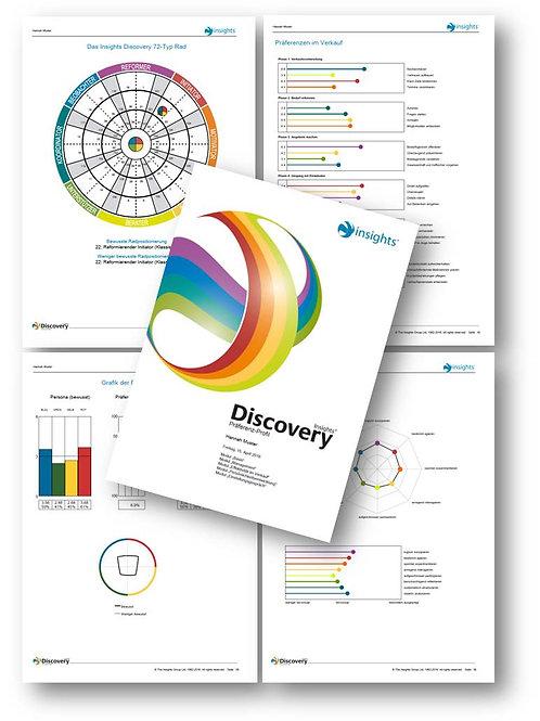 Dein persönliches Profil - Insights Discovery© Präferenzprofil