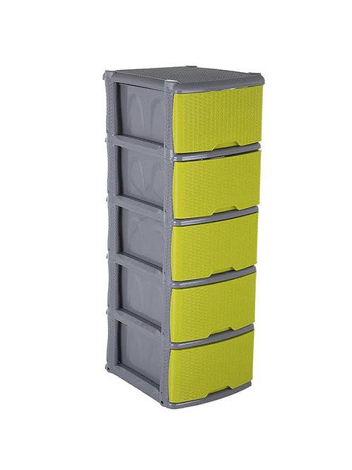 Mueble Organizador Rattan X 5
