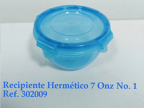 Recipiente Hermético 7  Oz # 1
