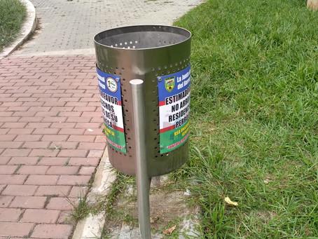 La limpieza de nuestro parque depende de todos