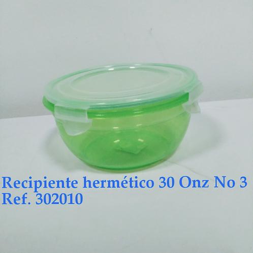 Recp. Hermetico 30 Oz # 3