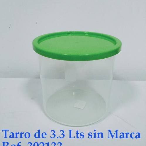 Tarro 3.3  Lts  Sin Marcar