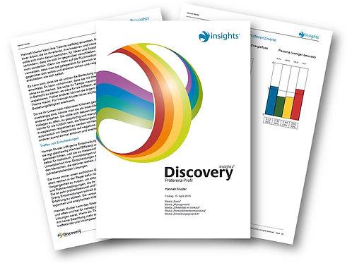 Insights Discovery© Präferenzprofil - Business