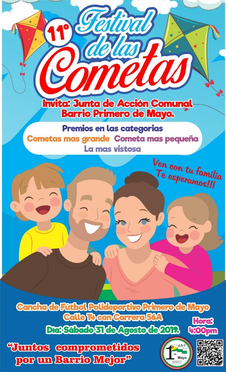 XI Festival de las Cometas Primero de Mayo Cali