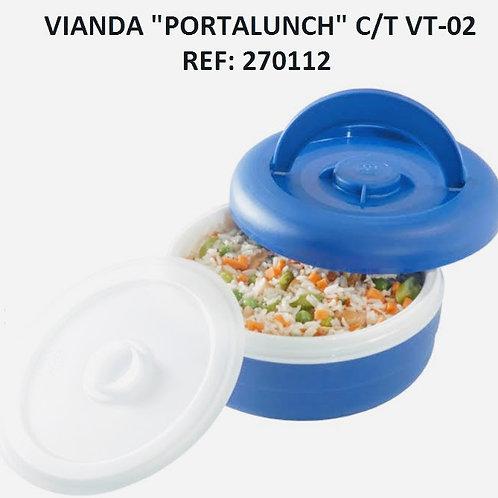 "Vianda ""Portalunch""  Con Tapa  Ref VT-02"
