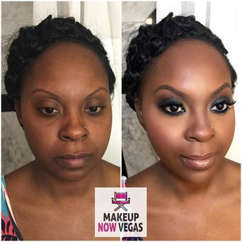 Smokey Bridal makeup
