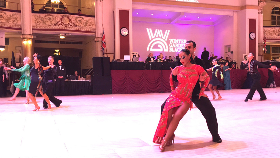 Las Vegas Ballroom Dancing Makeup