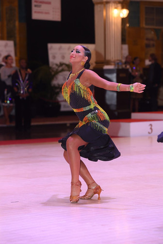 Ballroom Dancing Makeup