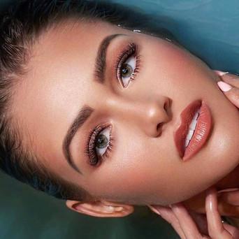 Kim K makeup