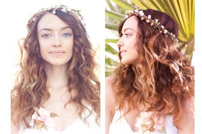 Natural beautiful bride