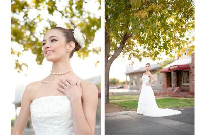 Fall wedding in Las Vegas