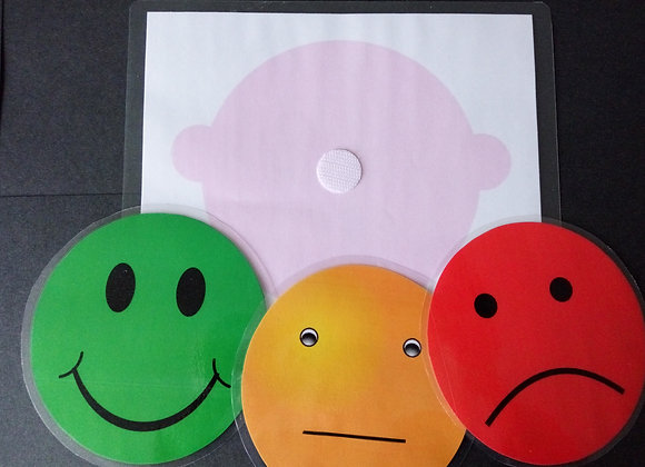 traffic light system autism communication children express emotion development