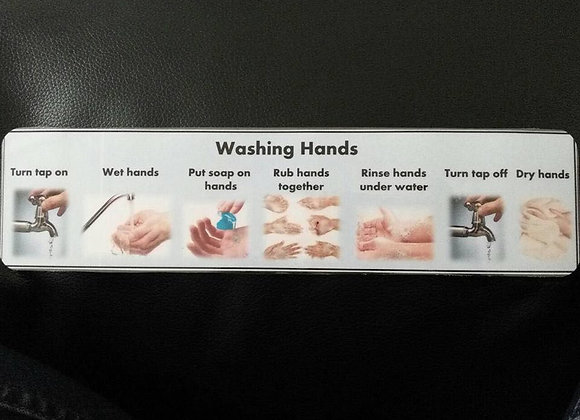 Washing Hands Guide