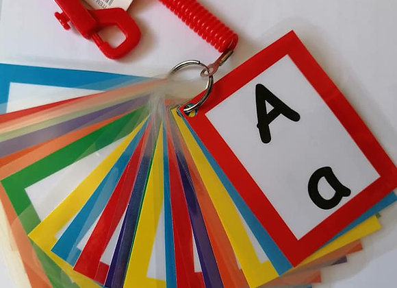 Basic (no picture) Alphabet Flash Cards