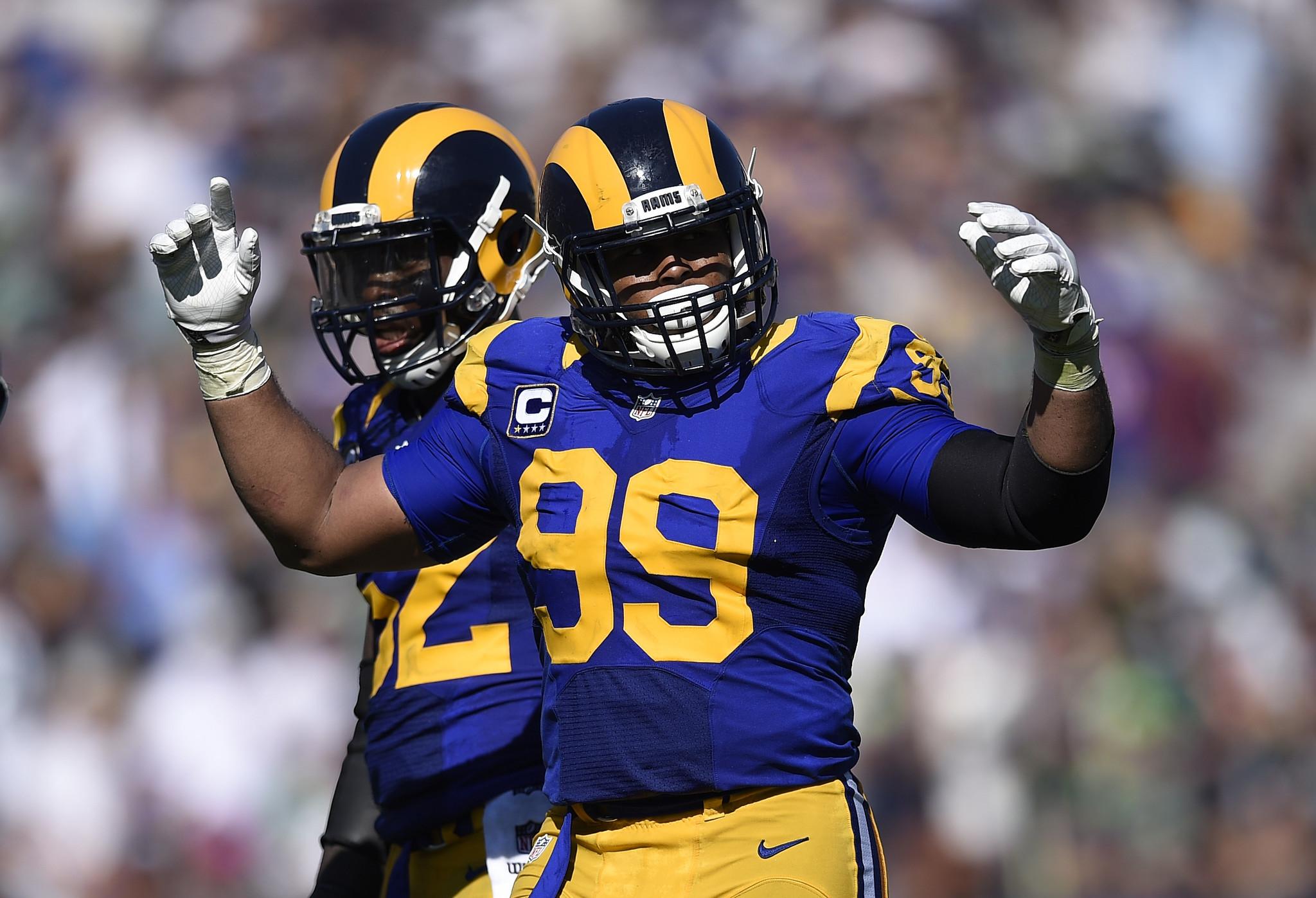 Aaron Donald returns to Rams will not play Sunday