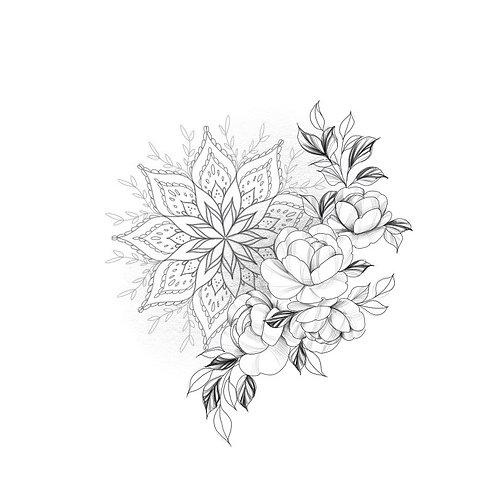Mandala & Floral
