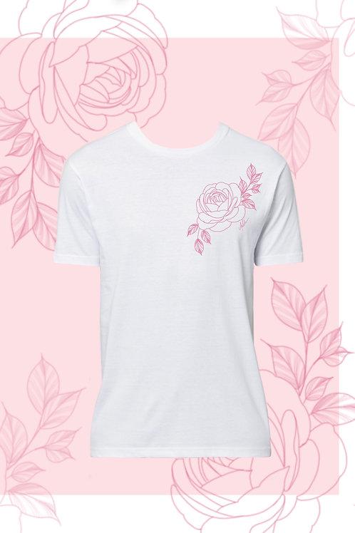 White Uni-Sex Tshirt