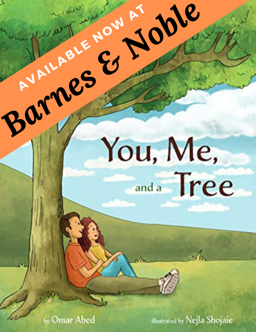 """You, Me, and a Tree"" available at Barnes and Noble"