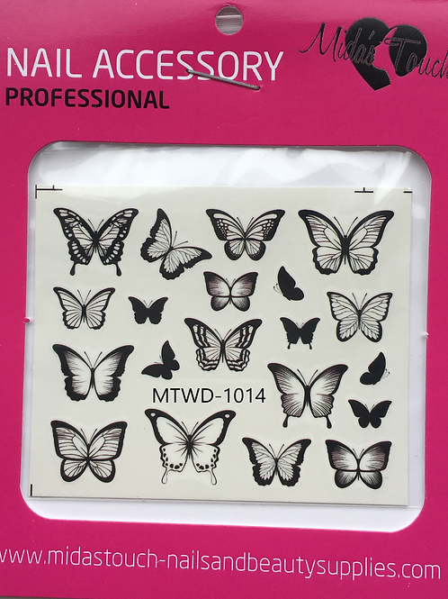 Butterfly Water Decal MTWD-1014
