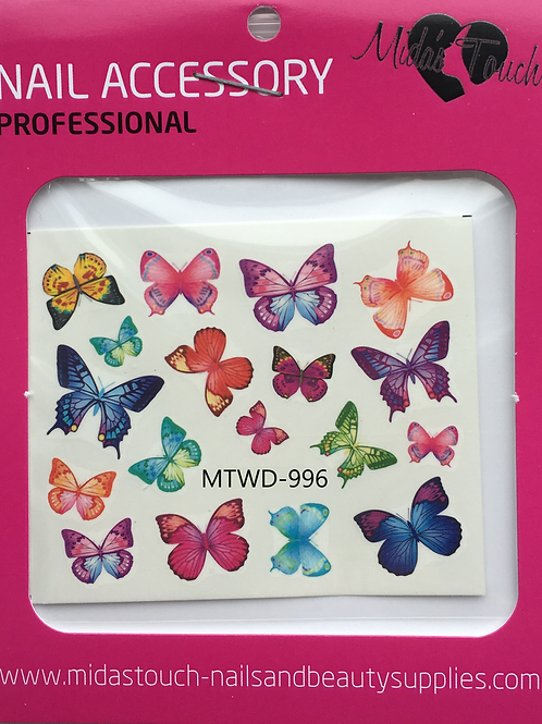 Butterfly Water Decal MTWD-996