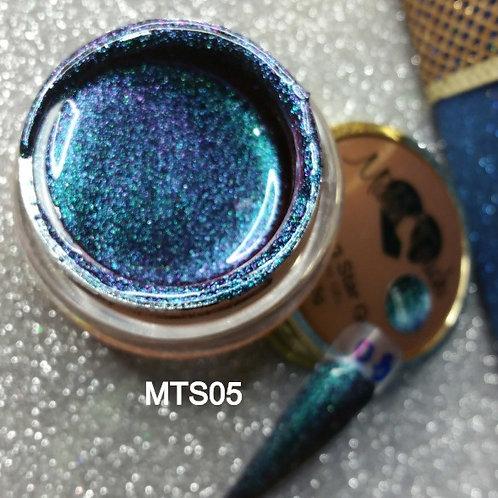 Blue Shining Star Glitter Gel