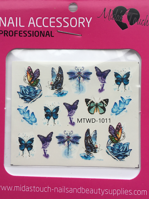 Butterfly Water Decal MTWD-1011