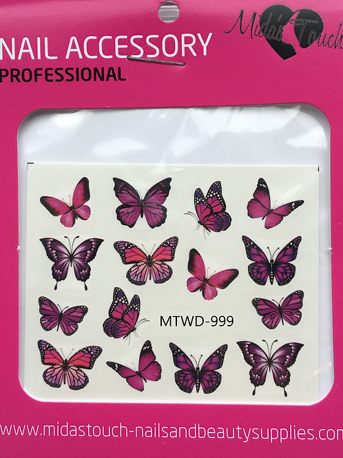 Butterfly Water Decal MTWD-999