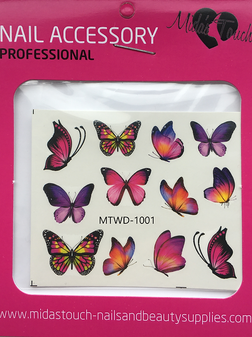 Butterfly Water Decal MTWD-1001