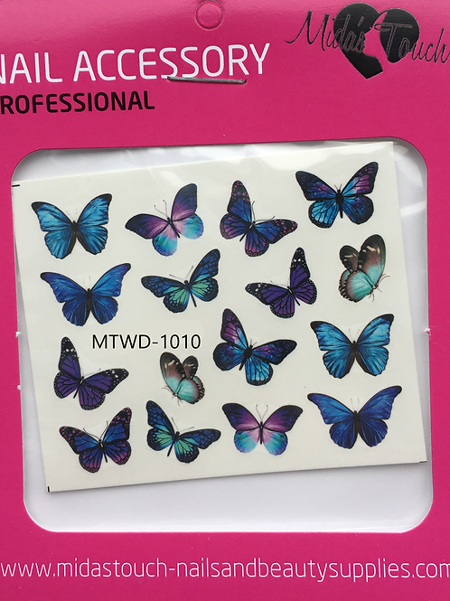 Butterfly Water Decal MTWD-1010