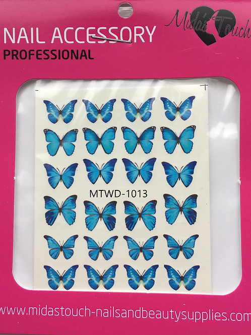 Butterfly Water Decal MTWD-1013