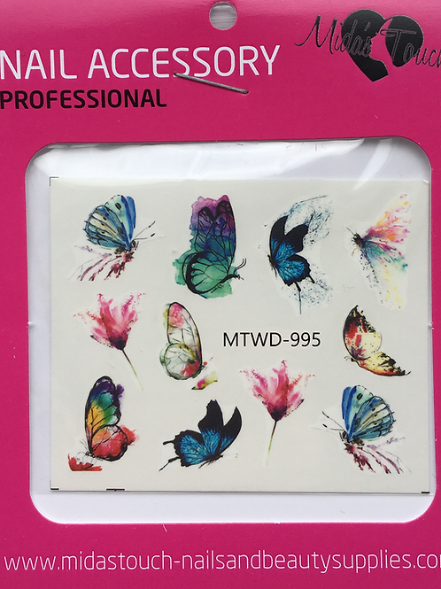 Butterfly Water Decal MTWD-995