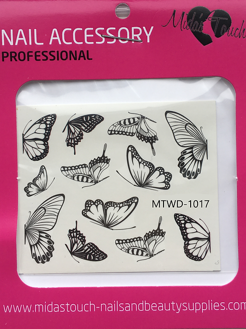 Butterfly Water Decal MTWD-1017