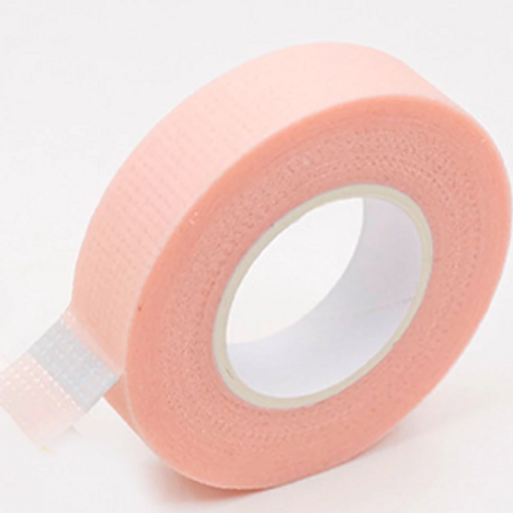 Pink lash extension tape