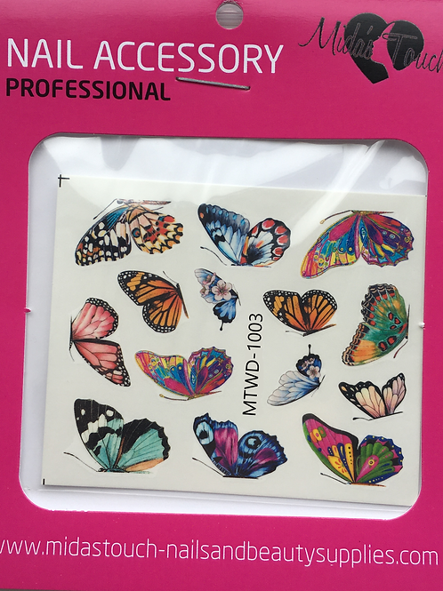 Butterfly Water Decal MTWD-1003